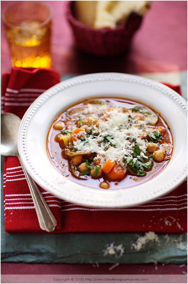 chickpea tomato soup
